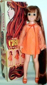 Crissy doll orange dress