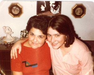 Eleanor and Maria, a few years ago