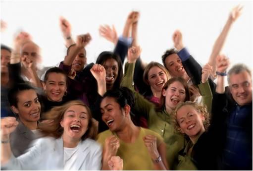 People-cheering