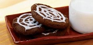 Yum...spiderweb cookies!