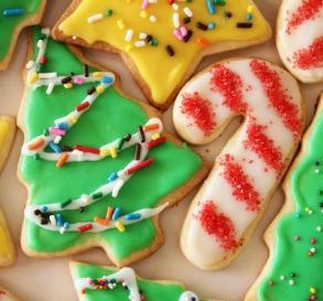 Yay! Christmas cookies