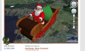 Norad-Santa-tracker