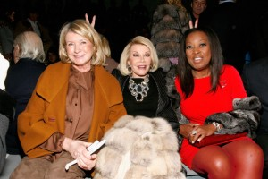 Joan Rivers and friends