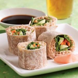 Spicy Tuna Wrap. Yum