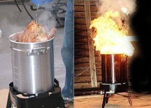 While you deep fry your turkey