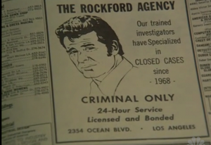 Rockford Files ad