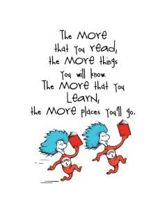 Go ahead...read!