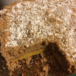 buttery crumb cake
