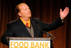 Mario Batali raises awareness about hunger in America