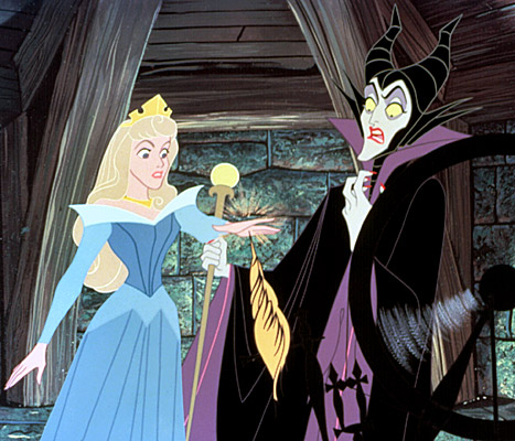 sleeping-beauty and maleficent